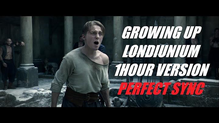 growing up londinium  1 hour version  daniel pemberton king arthur soundtrack