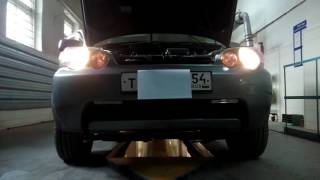 Правильная работа ДХО на примере Honda H-RV