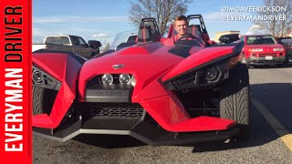 "2015 Polaris Slingshot ""tmz Style"" 3-wheeler Motorcycle On Everyman Driver"