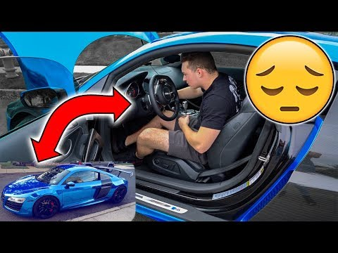 MY AUDI R8 IS BROKEN! (NOT CLICKBAIT)