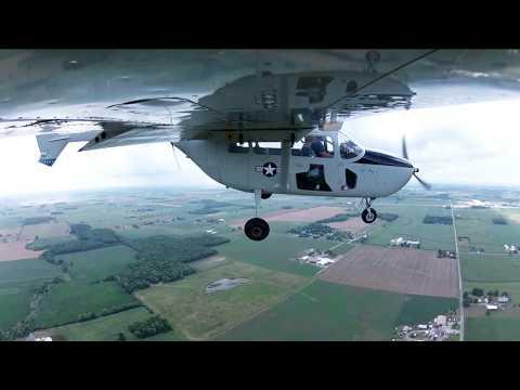 A Flight on an O-2A