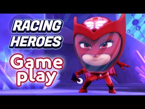 PJ Masks Games | PJ Masks Racing Heroes - New App Game - Owlette Gameplay | Game For Kids