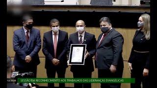 Parlamento enaltece trabalho das igrejas evangélicas na pandemia