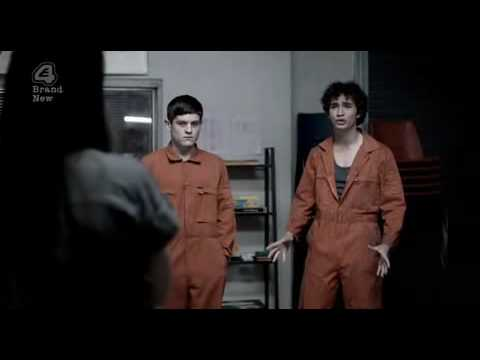 Robert Sheehan in a hilarious  from episode one of E4's Misfits