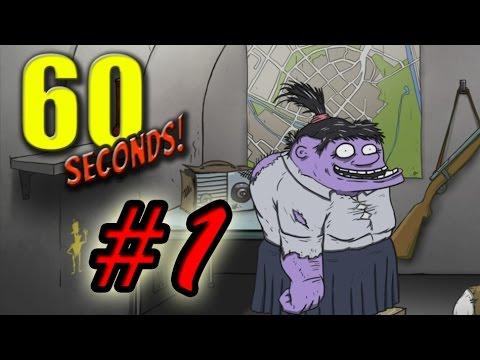 Lukasino hraje 60 seconds - Mutant!