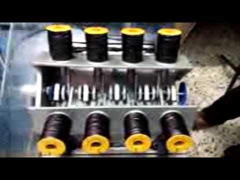 Electrical v8 solenoid engine using plc