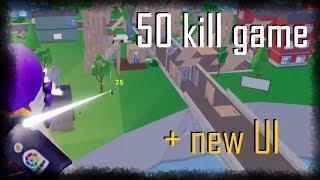 Roblox strucid episode 15 | 50 kill game + new UI