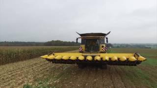 EURL BOSCHET - 2X BIG NEW HOLLAND CR 10.90 Smartrax CORN Harvest / 20 ROWS with DRONE DJI 3 pro