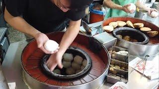 Street food Taiwan Pepper cake Pepper bun