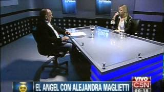 C5N - EL ANGEL DE LA MEDIANOCHE CON ALEJANDRA MAGLIETTI