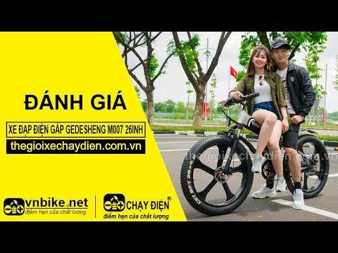 Đánh giá xe đạp điện gấp Gedesheng M007 26inh