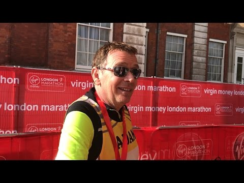 Eastenders Actor Adam Woodyatt Hails Son's 'Miraculous' London Marathon Run