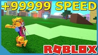 BECOMING THE FASTEST IN ROBLOX SPEED SIMULATOR