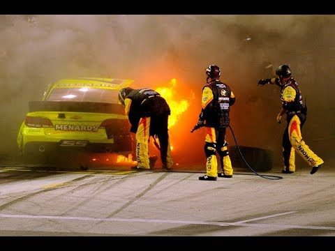 Scariest NASCAR Pit Road Crashes and Incidents 2