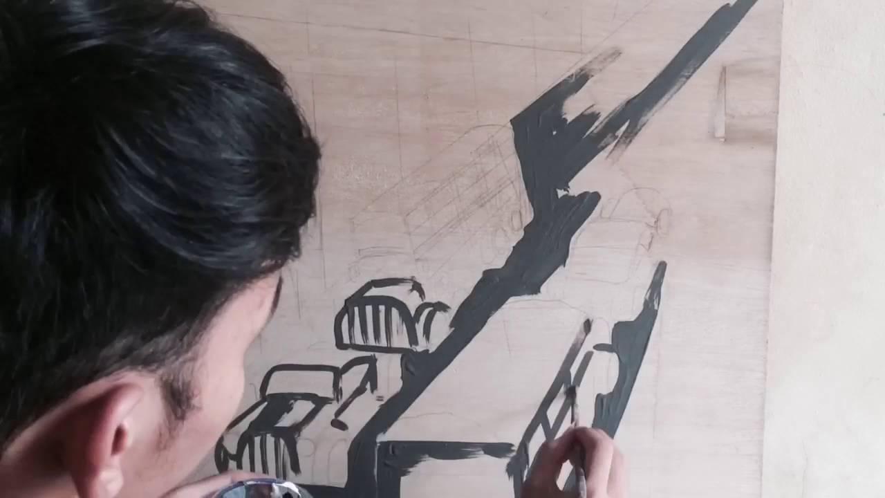 101 Gambar Abstrak Pensil Mudah Paling Keren