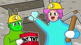 CONEJOS DIVERTIDOS EN MINECRAFT Super Bunny Man