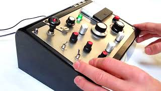 RC CIRCUIT BENT 'GEIGER LAB' ECHO ATMOSPHERE DRONE SOUND GENERATOR SYNTHESIZER