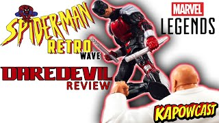 MARVEL LEGENDS SPIDER-MAN RETRO WAVE DAREDEVIL REVIEW