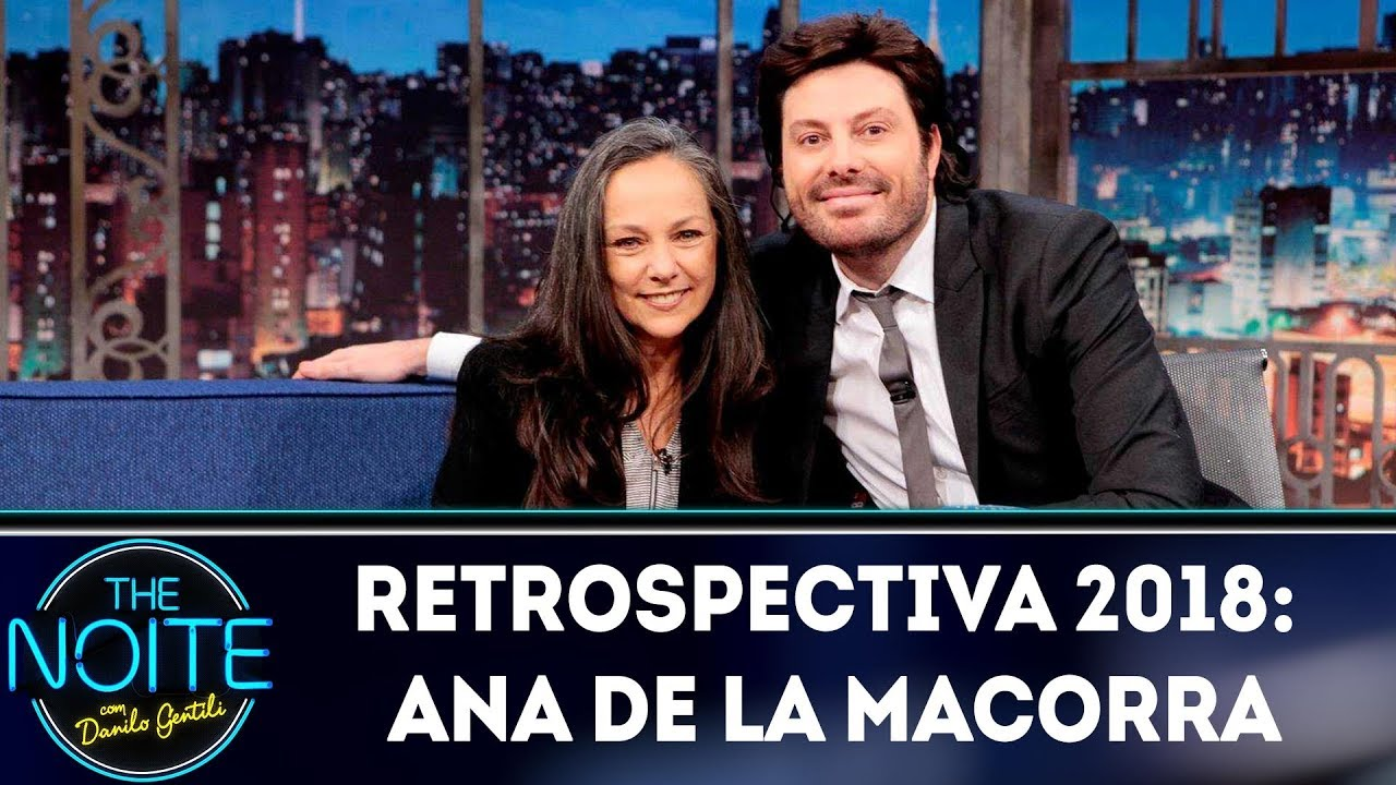 Ana Lilian De La Macorra retrospectiva 2018: ana de la macorra | the noite (23/01/19)