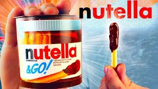 Видео ПОВТОРИЛИ 3 ВКУСНЯШКИ ИЗ СУПЕРМАРКЕТА / Nutella / Skittles /батончик Twix