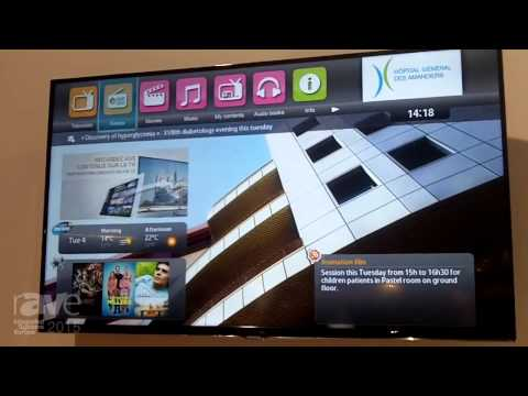ISE 2015: Eona Presents its Hospitality Solutions in the Samsung Stand