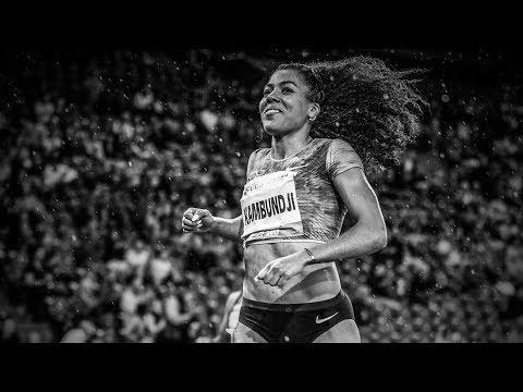 Die Sprinterin.