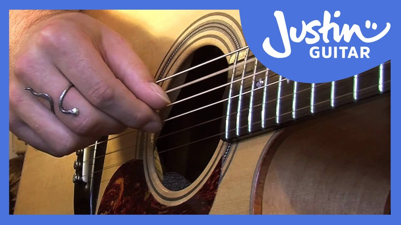Waltzing Matilda Chords Melody Justinguitar