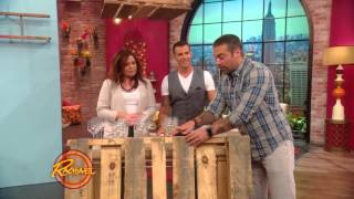 How to Use a Wood Pallet to Make a Hanging Wine Glass Rack
