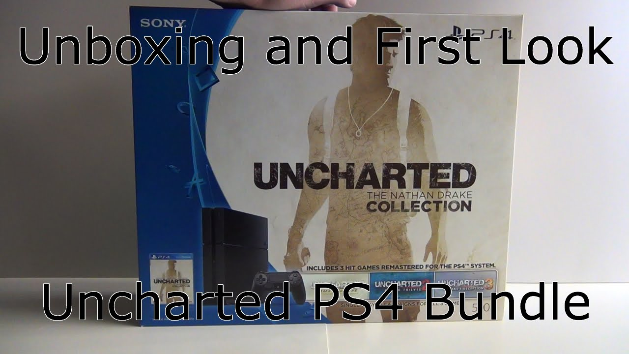 Unboxing And First Look The Nathan Drake Collection Ps4 Bundle