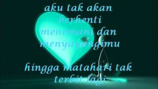 Repeat youtube video Wali Band - Doaku Untukmu Sayang with lyrics.wmv