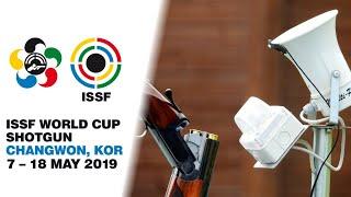 ISSF WC Shotgun, Changwon, KOR. Trap Men 16.05.19