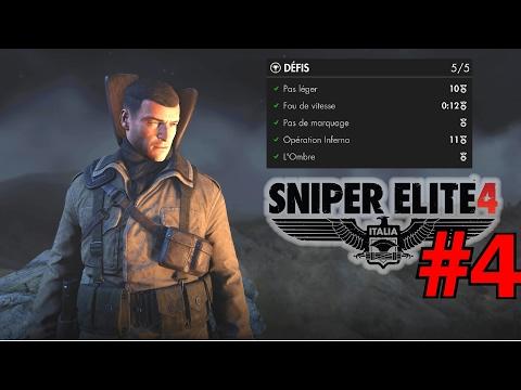 Sniper Elite 4: Tuto Tous les Défis 5/5 (Panzerfaust) Port de Lorino  - Mission 4