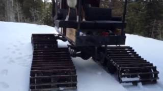 Wide Track Tucker Sno-Cat