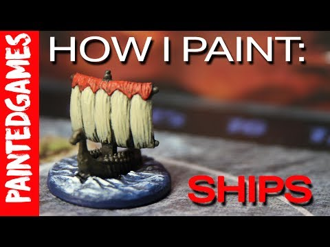 PaintedGames: How I Paint Blood Rage - Ships
