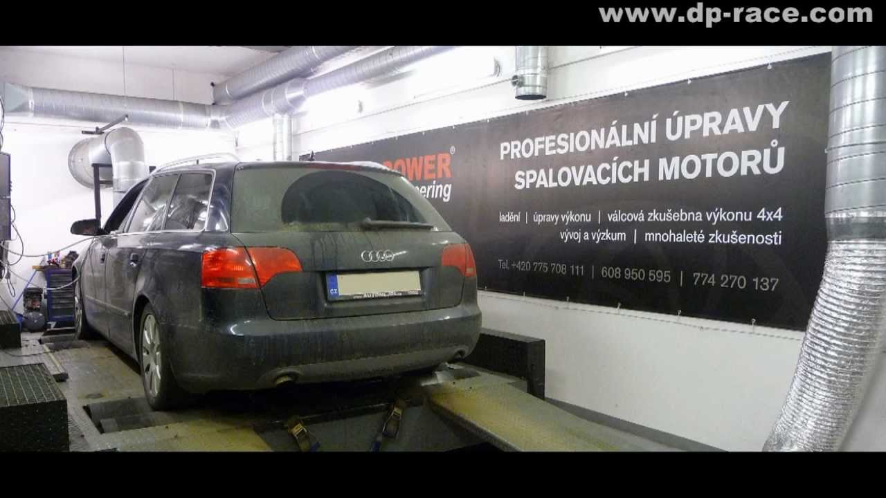 Audi A4 20tdi Dpf Regeneration Process On The Dyno Cruising At