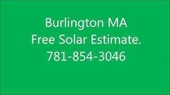 Solar Panels Burlington MA