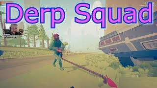 Totally Accurate Battlegrounds - Derp Squad
