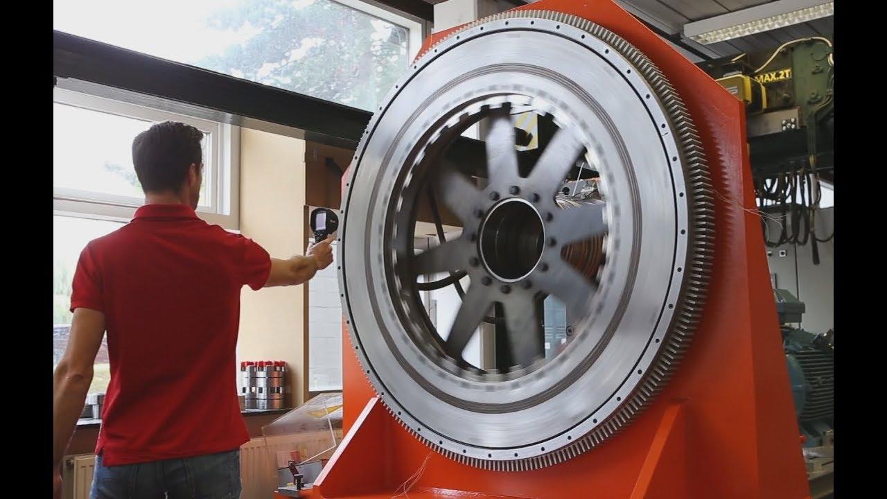 Magnax Axial Flux Permanent Magnet Electric Motor