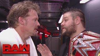 Chris Jericho konfrontiert Kevin Owens: Raw, 17. Oktober 2016