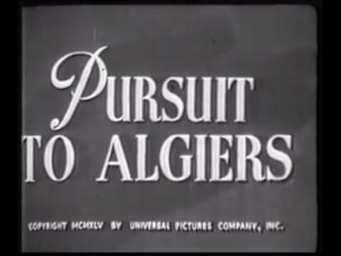 Sherlock Holmes  Fuga Da Algeri 1945 - Basil Rathbone