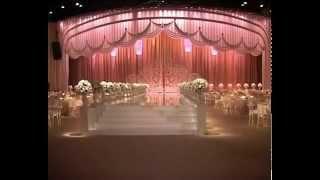 Свадебное оформление зала. Оформление элитных национальных свадеб