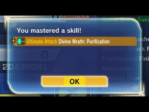 NEW ULTIMATE SKILL DIVINE WRATH: PURIFICATION ][ DRAGONBALL XENOVERSE 2