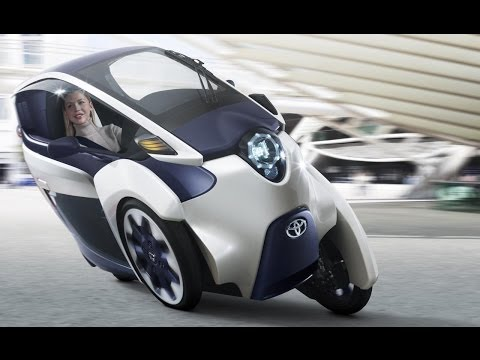 Is Toyota's 3-Wheel iRoad the Future of Cars? - CES 2014