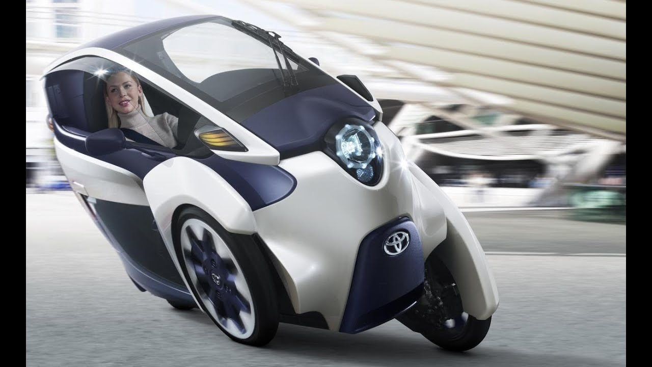 Is Toyota's 3-Wheel IRoad The Future Of Cars?