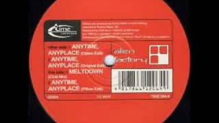 Alien Factory - Anytime Anyplace - Time Unlimited - 1996