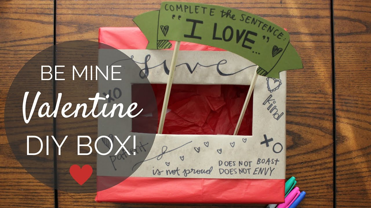 DIY VALENTINEu0027S BOX | OLD SCHOOL STYLE FOR KIDS AND ADULTS!   YouTube