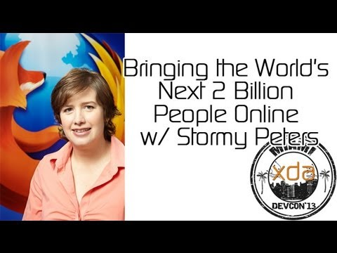 Bringing the World's Next 2 Billion People Online w/ Stormy Peters from XDA:DevCon 2013