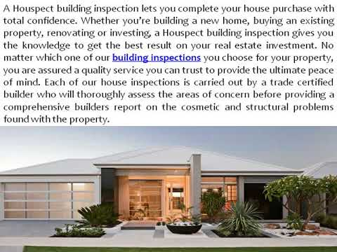 Why You Need a Pre Purchase Inspection before Buying Home and Building