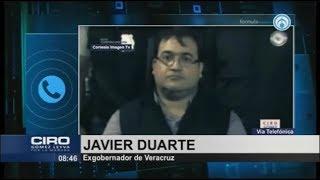 Osorio Chong tiene Alzhéimer o que vaya al psiquiatra, se quiere lavar las manos: Javier Duarte