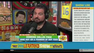 Diamond Dallas Page calls Dan Le Batard a monkey